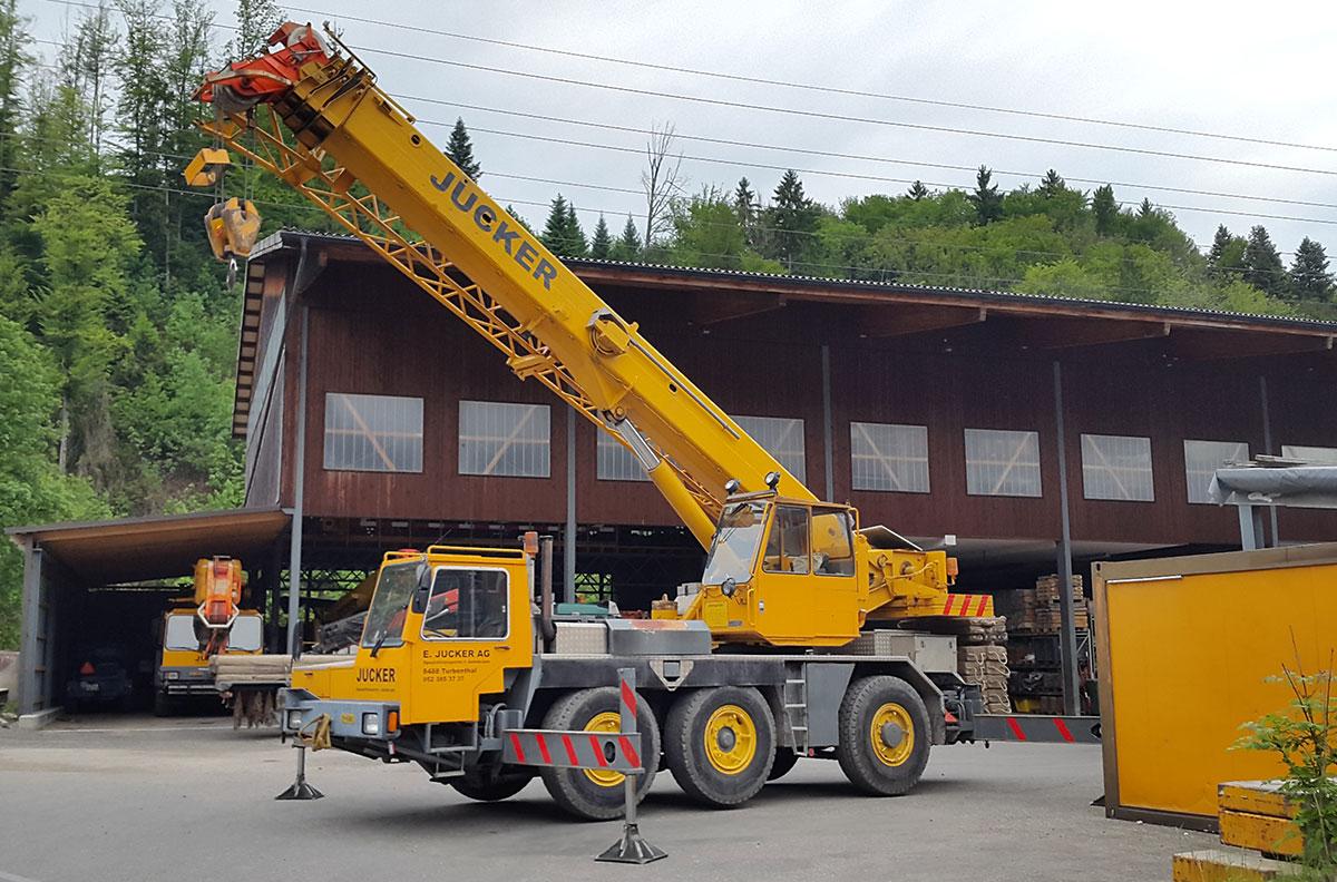 Pneukran LT 1035-2 Jucker AG