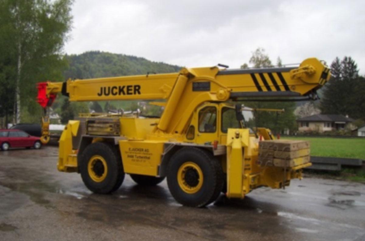 Transporte Pneukran Jucker AG Turbenthal