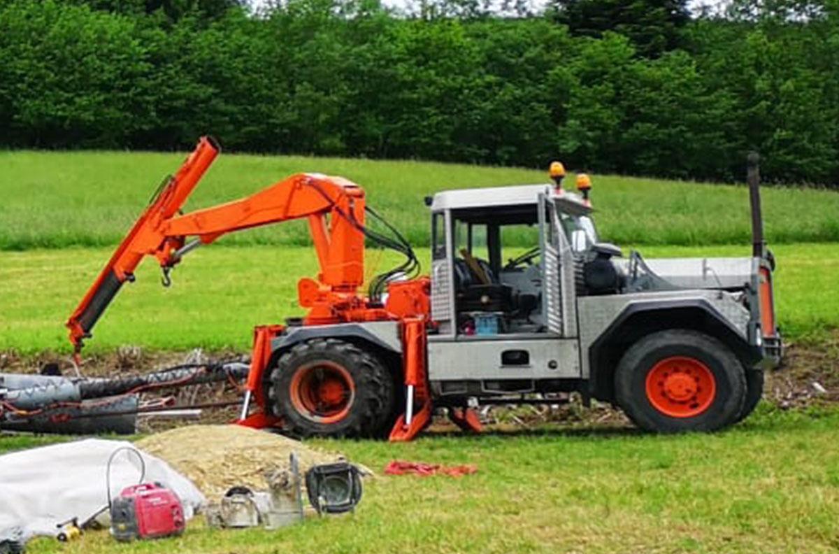 Bührer Traktor Spezialtransporte Jucker AG