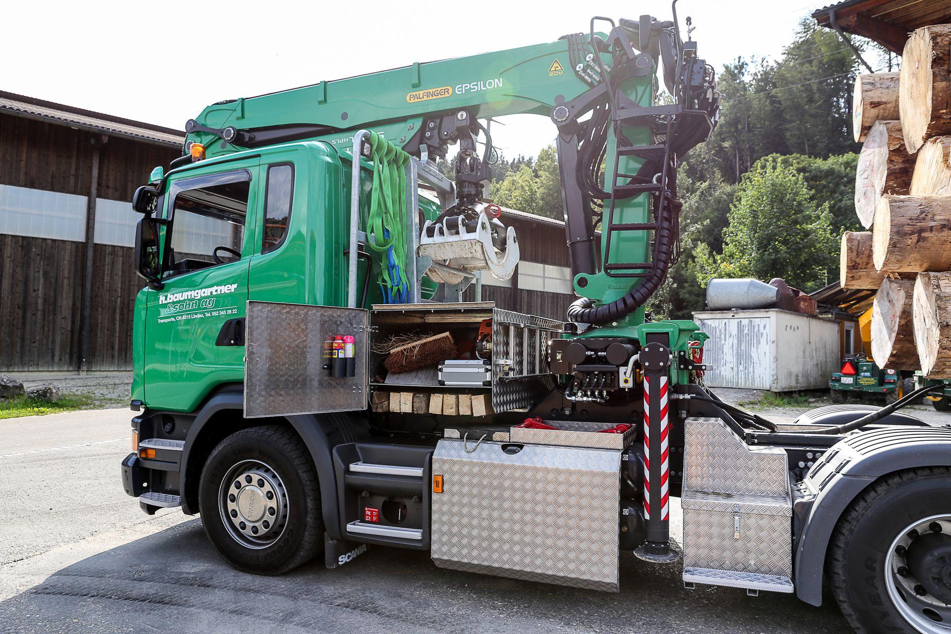 LKW Spezialanfertigungen Reparaturen Mechanische Werkstatt Turbenthal
