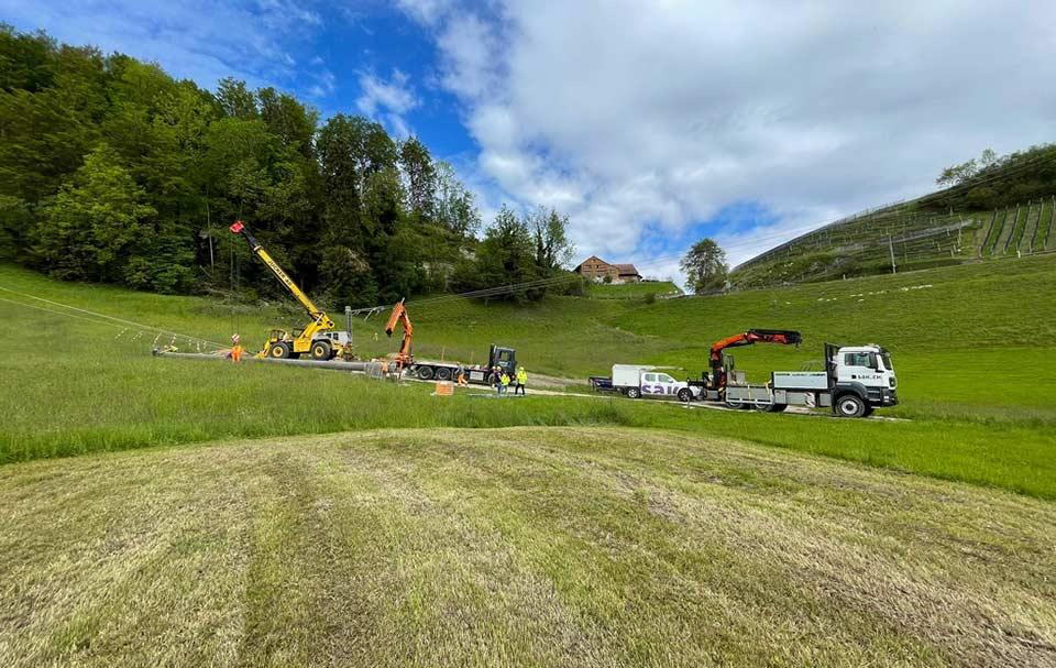 Spezialtransporte Schweiz Turbenthal Jucker AG